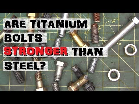 Busting Nuts, Exotic Screws | Titanium, Inconel, Bronze