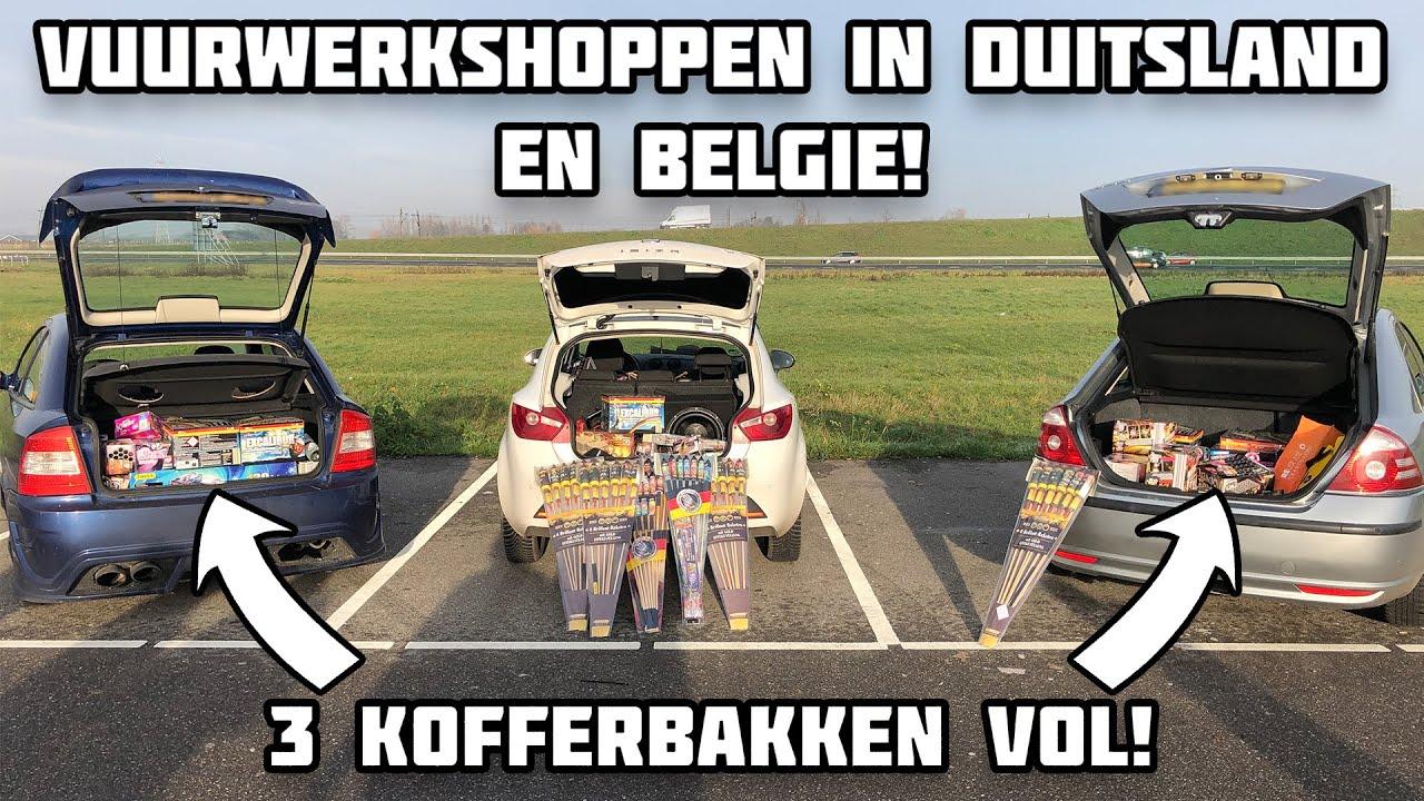 VUURWERKSHOPPEN 2019-2020 | DUITSLAND & BELGIË