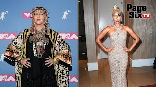 Madonna calls out Lady Gaga over '100 people in a room' viral video | Page Six TV