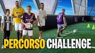 PERCORSO AD OSTACOLI FOOTBALL CHALLENGE! w/Ohm & T4tino23