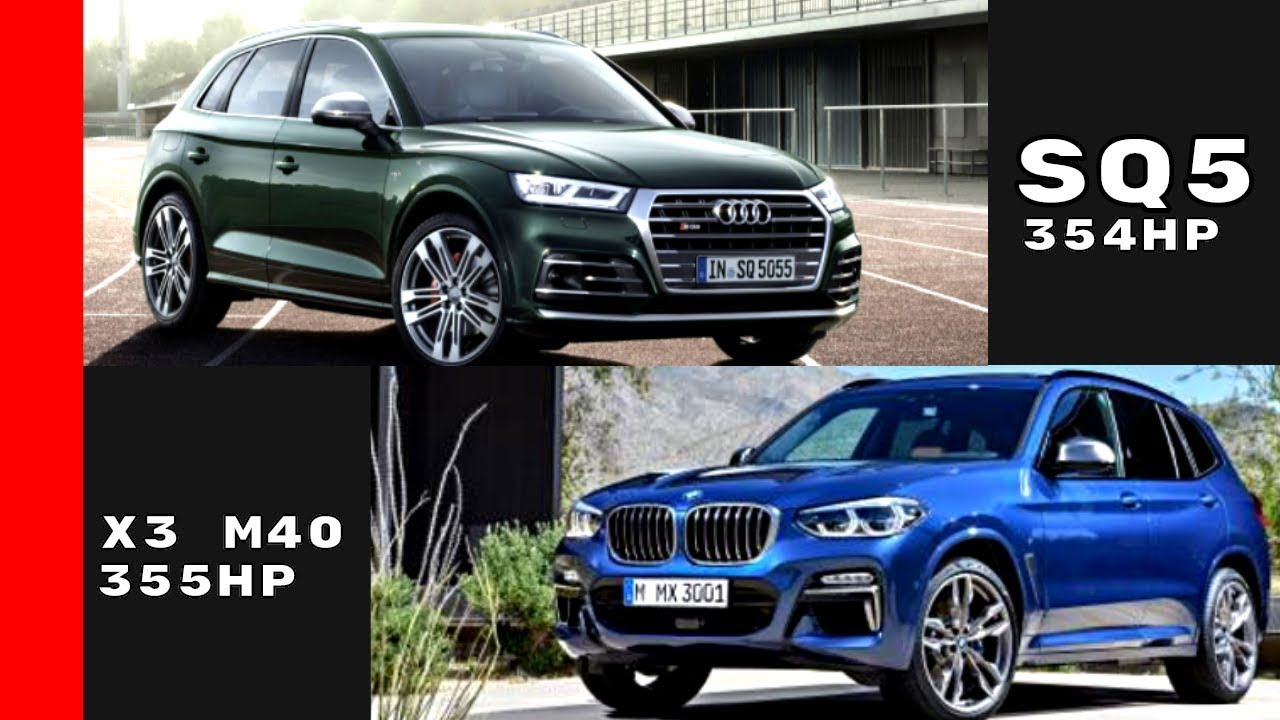 BMW X3 M40i vs Audi SQ5 Which Is The Best? Watch Now - YouTube