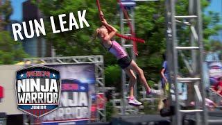 LEAKED RUN: PAYTON MYLER From Ninja Kidz TV | American Ninja Warrior Junior | Universal Kids