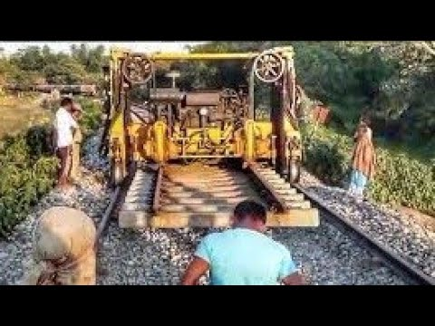 How marvellously old tracks are replaced in Indian Railways