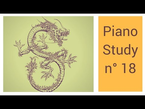 Piano Study n.18 : The Gentle and Benevolent Qilin (Paulo Bottas)