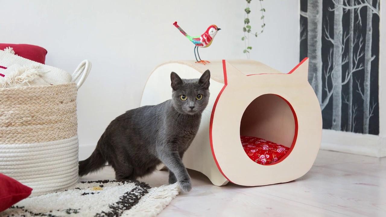 Tipi Pour Chat A Fabriquer comment fabriquer une niche pour chat felix