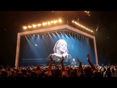 ADELE Live 2016 -- Nov. 2 -- Dallas, Texas