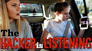 THE HACKER IS LISTENING || Taylor and Vanessa