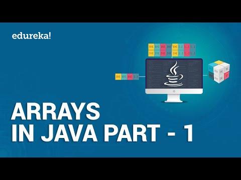 Arrays in Java Part - 1 | Introduction to Java Arrays | Java Programming | Java Edureka thumbnail