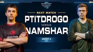 PtitDrogo vs Namshar PvZ - Ro16 Group A Decider - WCS Winter Europe