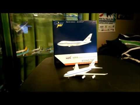 "Gemini Jets  1/400 Nasa  Boeing 747SP  ""Sofia"" (N747NA) model review"