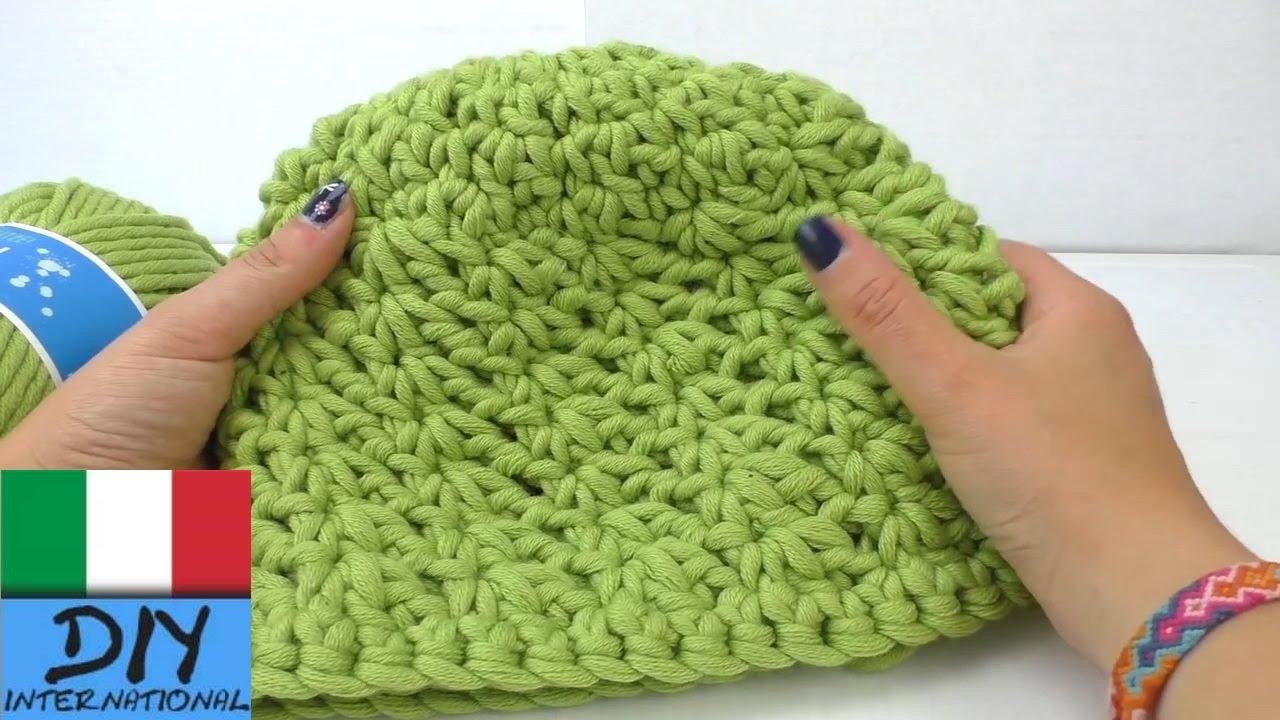 Cappello Invernale Ad Uncinetto Con Disegni A Stella Diy