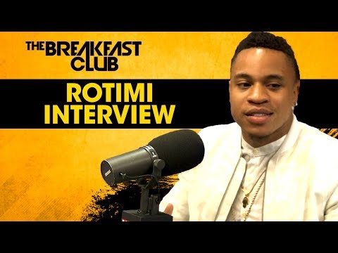 Rotimi Talks Dre on Power, His New EP, LaLa's Tata's & More