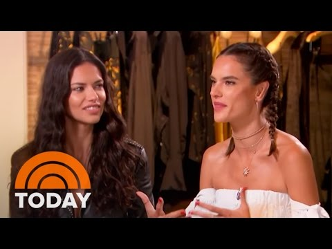 Models Alessandra Ambrosio, Adriana Lima Talk Beauty And Brazil | TODAY
