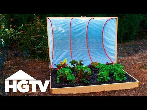 Make A Garden Cold Frame Using Hula Hoops - Way To Grow