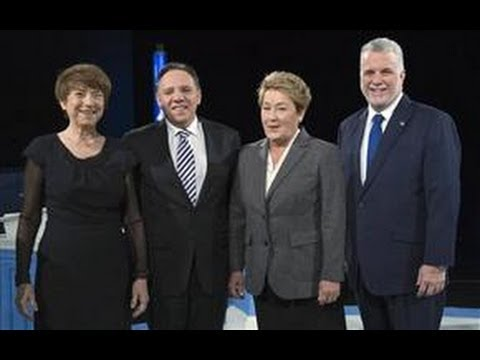 Quebec Votes 2014 Leaders Debate 2.0