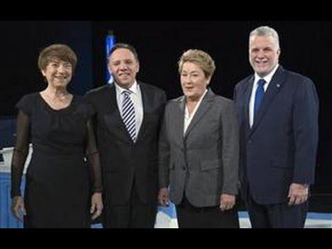 Quebec Votes 2014 Leaders Debate 2.0