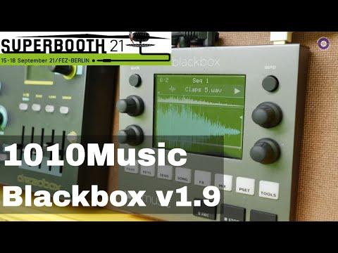 SUPERBOOTH 2021 - 1010 Music Blackbox V1.9 Updates