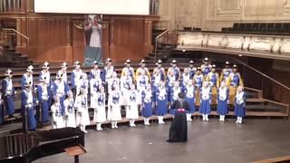 Inner Mongolia Youth Choir (2) 20.07.13 Graz, Austria, Stefaniensaal