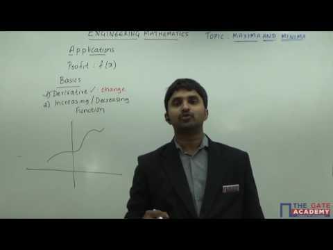 Maxima and Minima Calculus I Engineering Mathematics | EC, EE, IN, ME, CE, CS