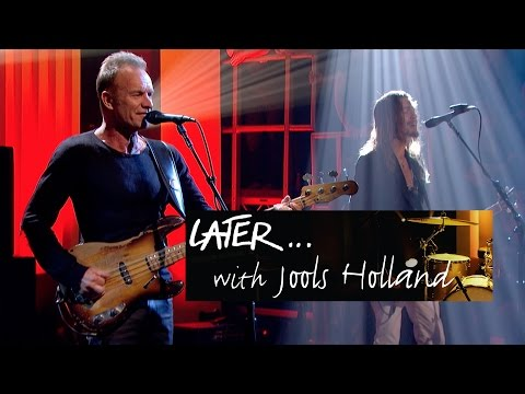 Sting - I Can't Stop Thinking About You - Later… with Jools Holland - BBC Two