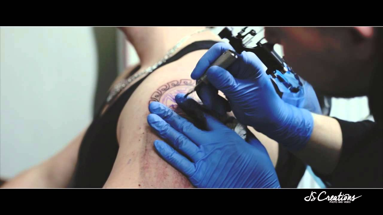 Modern style tattoo bielefeld