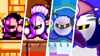 Evolution of Meta Knight Battles in Kirby Games (1993 - 2018)