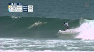 Medina vs Dantas vs Reynolds Round One, Heat 6 - 2015 Quiksilver Pro Gold Coast