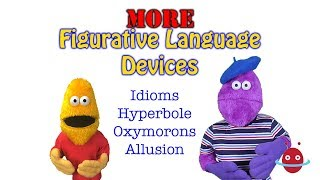 Idioms, Hyperbole, Oxymorons and Allusion.