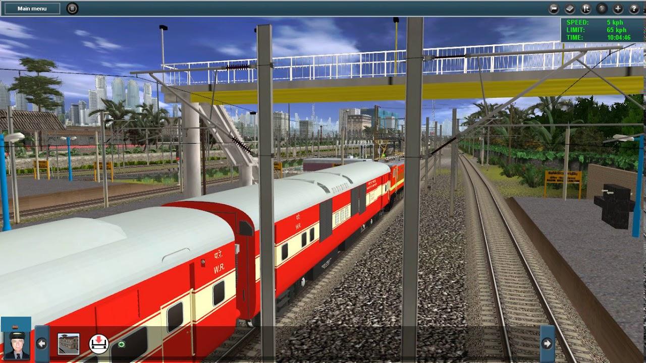 Auran Trainz 2012 Indian rail Game play