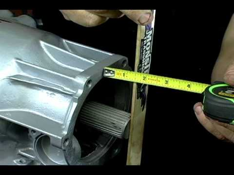 Measuring The Output Shaft On The Turbo 400 Curt S
