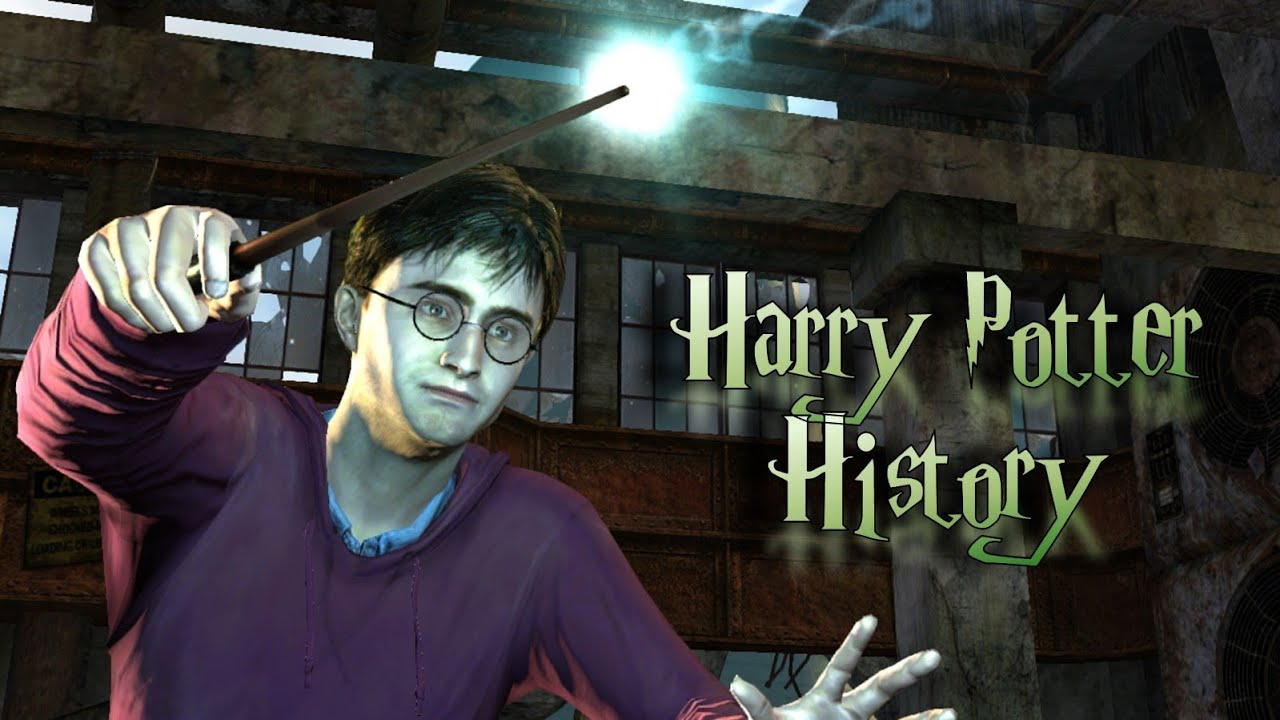 Harry Potter Game HISTORY  2001 2011   YouTube