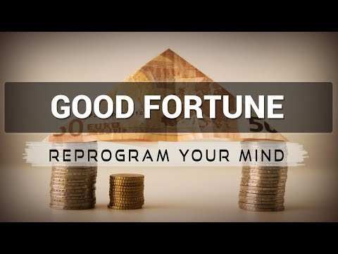 Good Fortune affirmations mp3 music audio  Law of attraction  Hypnosis  Subliminal
