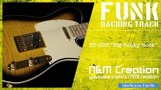 Repeat youtube video Wild Funk Rock Style Backing Track in Dm