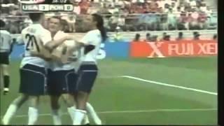 2002 USA vs Portugal - Brian McBride Goal 3