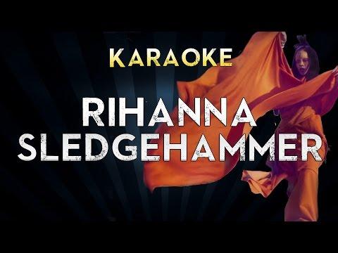 rihanna---sledgehammer-|-official-karaoke-instrumental-lyrics-cover-sing-along