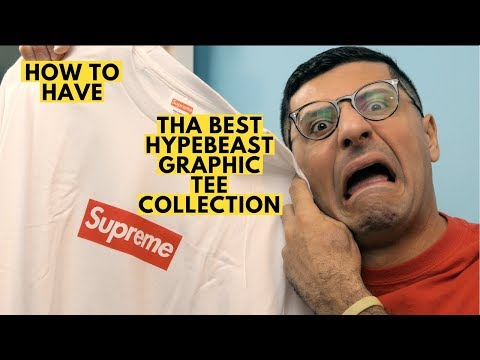 GREATEST HYPEBEAST GRAPHIC TEE COLLECTION