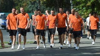 Walk around Kharkiv before the Donetsk derby