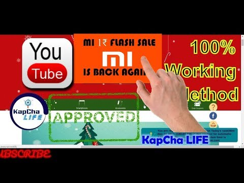 1 Rs sale SCRIPT [UPDATE] added | Mi No. 1 FAN SALE | 100% WORKING EXPLAINED hindi