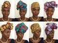 4 Quick and Easy Ways To Tie a Headwrap | Oriwo Design