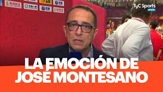 La REFLEXIÓN y la EMOCIÓN de Montesano, tras la medalla plateada del seleccionado de básquet