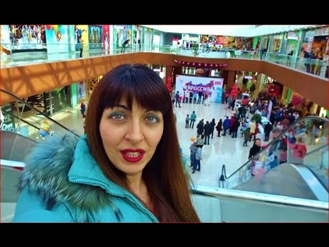 Russia, Biggest Mall in My Provincial Town Saratov