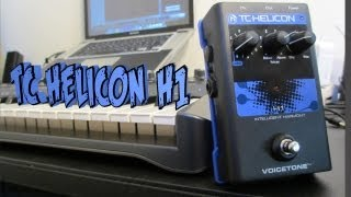 TC Helicon Voicetone H1 Harmony Pedal