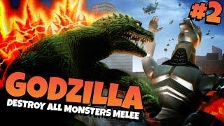 Godzilla: Destroy All Monsters Melee | Part 2 - MECHA-GODZILLA!