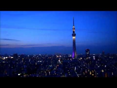 The twilight views of the TOKYO SKYTREE from Tobu Hotel Levant Tokyo