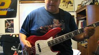"Bass Cover of ""The Devil"" song off CD: ""DRIVEN"" by Eric ""E"" Conn"