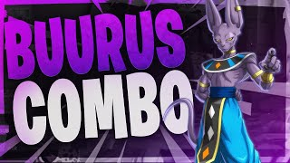 Daily Dragon Ball Fighterz Highlights: Buurus combo
