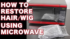 How to Restore, Revive Old Damaged Virgin Hair using Microwave Treatment