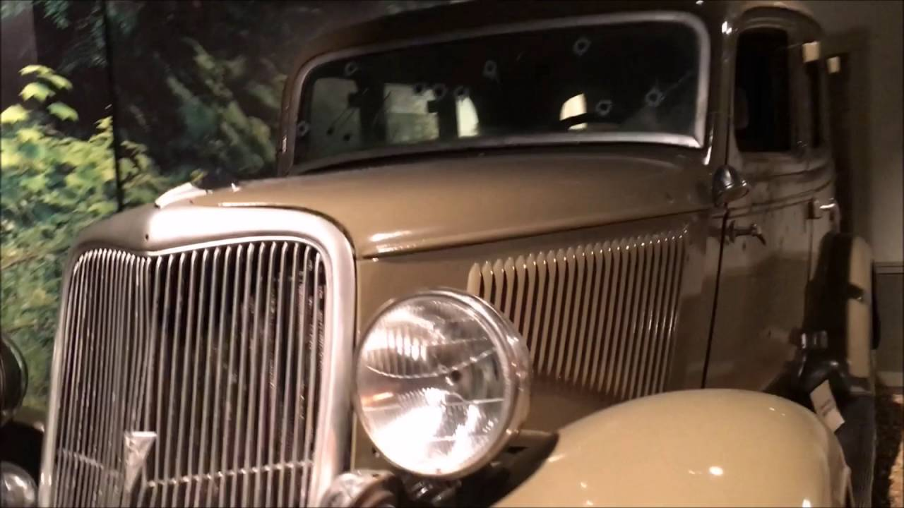 bonnie and clyde 39 s car youtube. Black Bedroom Furniture Sets. Home Design Ideas