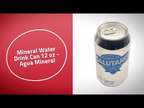 Mineral Water Drink Can 12 oz - Agua Mineral