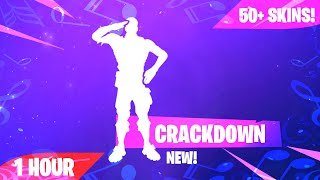 Fortnite - CRACKDOWN Emote (1 heure) (Téléchargement musical inclus)